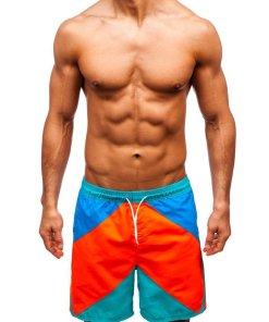 Pantaloni scurți de baie multicolor bărbați Bolf 343D