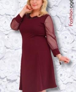 Rochie XXL Desire 162 Bordo