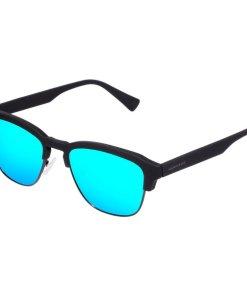 Ochelari de soare barbati Hawkers CLATR02 Rubber Black Clear Blue Classic