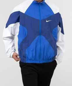 Nike Sportswear Re-Issue Jacket Hyper Royal/ White/ Deep Royal Blue/ White