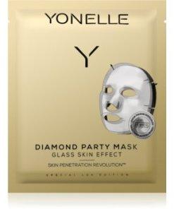 Yonelle Diamond Party Mask Masca hidratanta cu efect revitalizant sub forma de foaie
