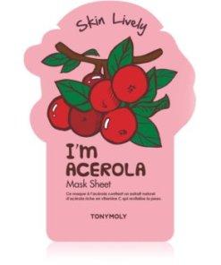 TONYMOLY I'm ACEROLA mască textilă revitalizantă