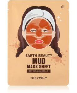 TONYMOLY Earth Beauty Mud masca pentur fata cu efect de peeling