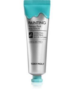 TONYMOLY Painting Therapy Pack mască cu argilă pentru netezirea pielii