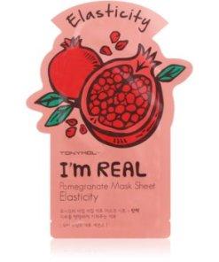 TONYMOLY I'm REAL Pomegranate masca pentru celule pentru intarire