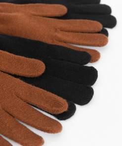 Mănuși de tricot 2-pack