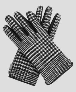 Mănuși cu model pepit