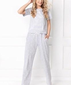 Pijama dama Hearty, lunga