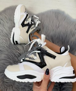 Adidasi Anastasia Gri #B4657