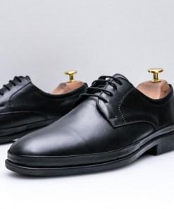 Pantofi barbati Piele naturala negri Demesi-rl