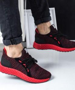 Pantofi sport Vernon rosii -rl