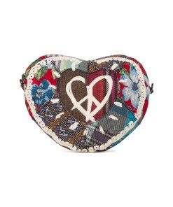 Geanta crossbody in forma de inima