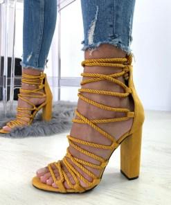 Sandale Andaluz Galbene #B4275
