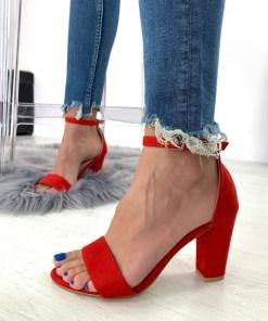 Sandale Azara Rosii #B4232