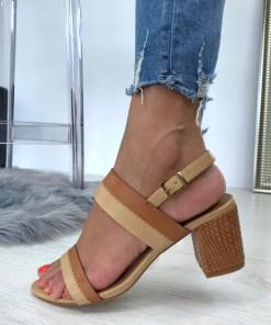 Sandale Nisa Camel #B4693