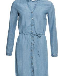 Bonprix Rochie-bluza de blugi - albastru prespalat