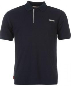 Tricou golf Slazenger Plain Polo Shirt Mens