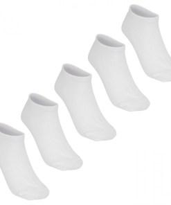 Sosete - Lee Cooper 5 Pack Invisible Socks Ladies 986780