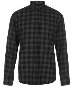 Camasa in carouri - Pierre Cardin Long Sleeve Check Shirt Mens 908775