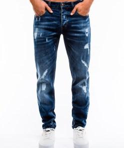 Blugi slim fit Ombre Clothing Men's jeans P861