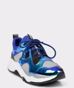 Pantofi sport FLAVIA PASSINI albastri, 4200, din piele ecologica