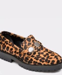 Pantofi ALDO maro, Rundra967, din material textil