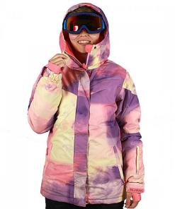 Jacheta iarna Flake Print Outerwear Jacket hot candy