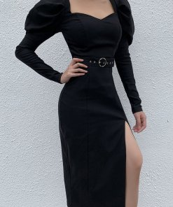 Rochie Eleganta Mortisha Neagra