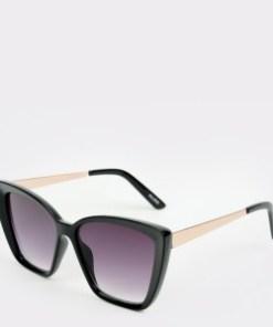 Ochelari de soare ALDO negri, Acorewia001, din PVC