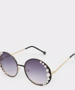 Ochelari de soare ALDO negri, Delilmania001 , din PVC