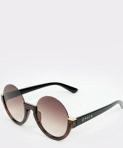Ochelari de soare EPICA maro, 328404, din PVC