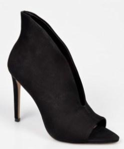 Pantofi ALDO negri, Tinindra, din nabuc