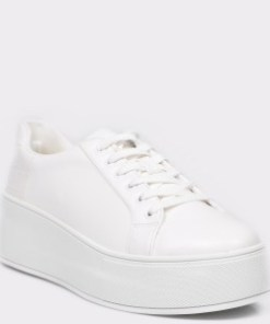 Pantofi sport ALDO albi, 12654919, din piele ecologica