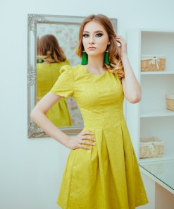 Rochie Casual Lime In Clos