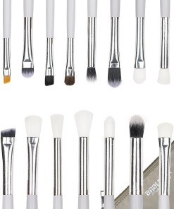 Set 15 Pensule Machiaj Precise Makeup White + Borseta Cadou