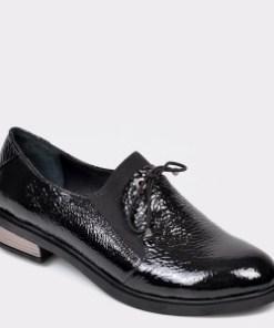 Pantofi FLAVIA PASSINI negri, NR8015, din piele naturala