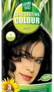 Vopsea par, Long Lasting Colour, Black 1, 100 ml