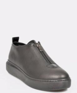 Pantofi FLAVIA PASSINI negri, 102120, din piele naturala