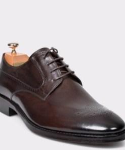 Pantofi LE COLONEL maro, 61204, din piele naturala