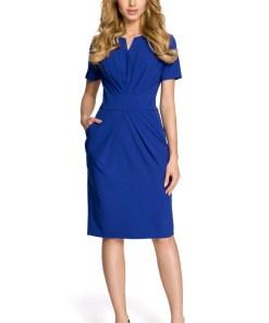 Rochie midi - Made Of Emotion Woman's Dress M234 Royal 949550