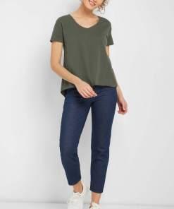 Tricou oversize Verde