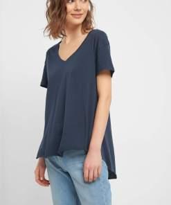 Tricou oversize Albastru