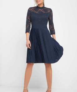 Rochie de dantelă Albastru