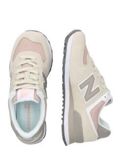 New Balance Sneaker low 'WL574WN' bej / roz