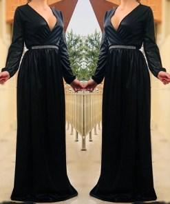 Rochie eleganta lunga Valentina 8