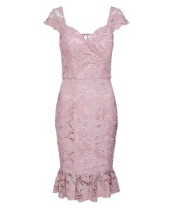 Chi Chi London Rochie de cocktail mov pastel
