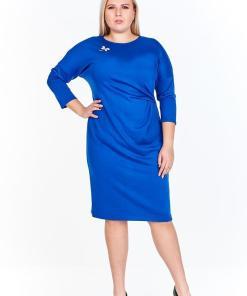 Rochie eleganta, de culoare albastra