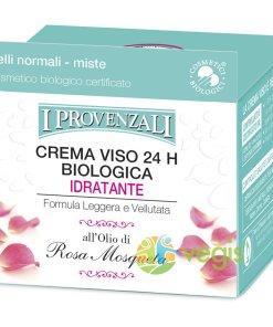 Crema Hidratanta de Fata cu Extract de Rosa Mosqueta Ecologica/Bio 50ml
