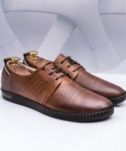 Pantofi barbati Piele casual camel Chemali-rl