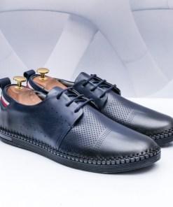 Pantofi Piele Chemali albastri